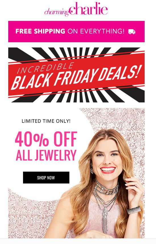 charming-charlie Black Friday Sale