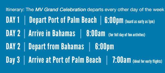 Bahmas Paradise Cruise Line Review   Bimini
