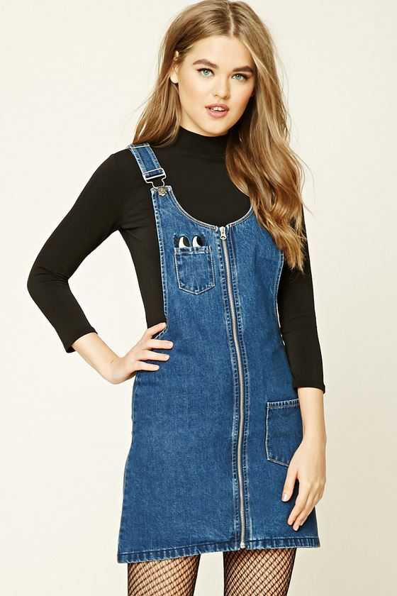 Paris Hart | Overalls for Fall - Forever21