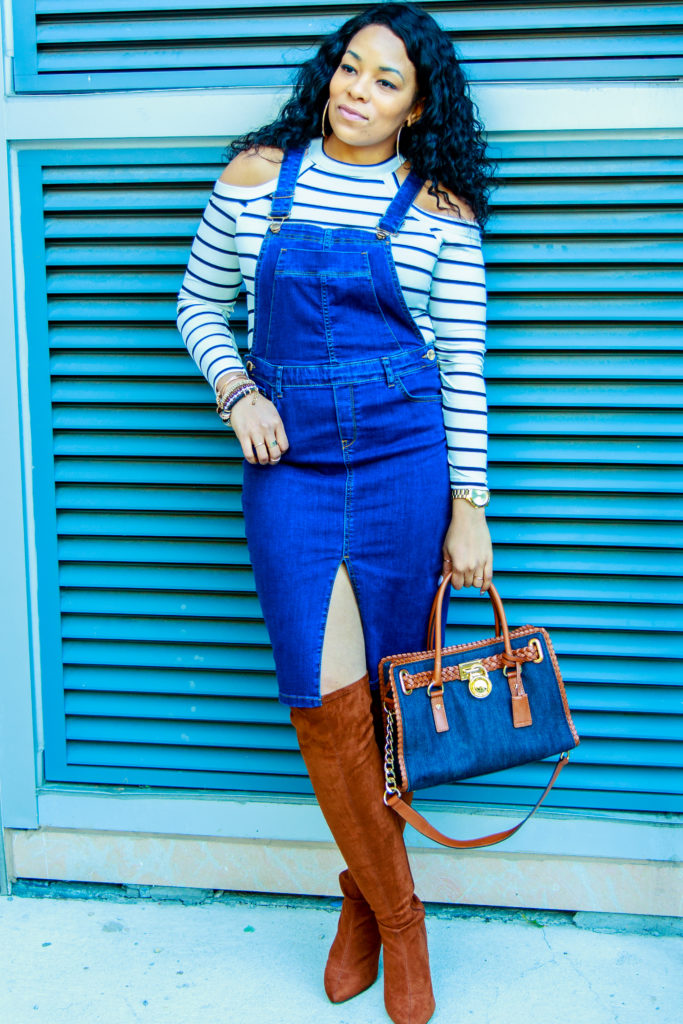 Paris Hart | Overalls for Fall